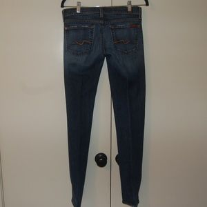 7 for all Mankind Women's straight leg jeans.
